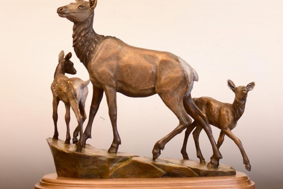Edit Artwork | Sculpture by Christine Knapp | Artists for Conservation
