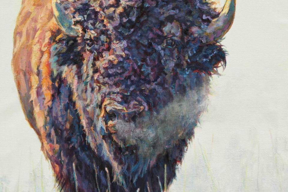 Add Artwork   Wallhanging by Patricia Griffin   Artists for Conservation
