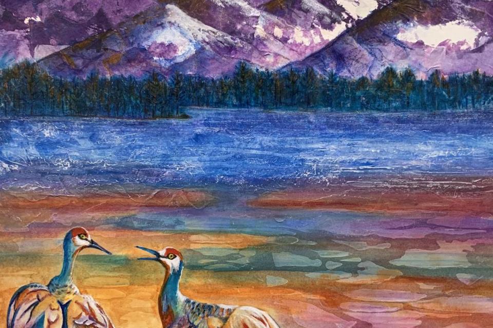 Add Artwork | Wallhanging by Pamela Haunschild | Artists for Conservation