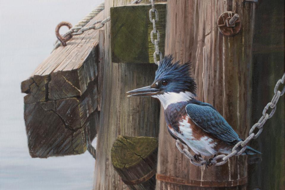 Edit Artwork   Wallhanging by Luke Raffin   Artists for Conservation