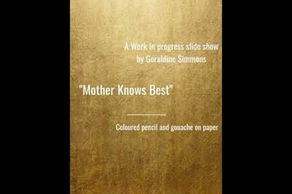 """A work in progress - """"Mother Knows Best"""""""