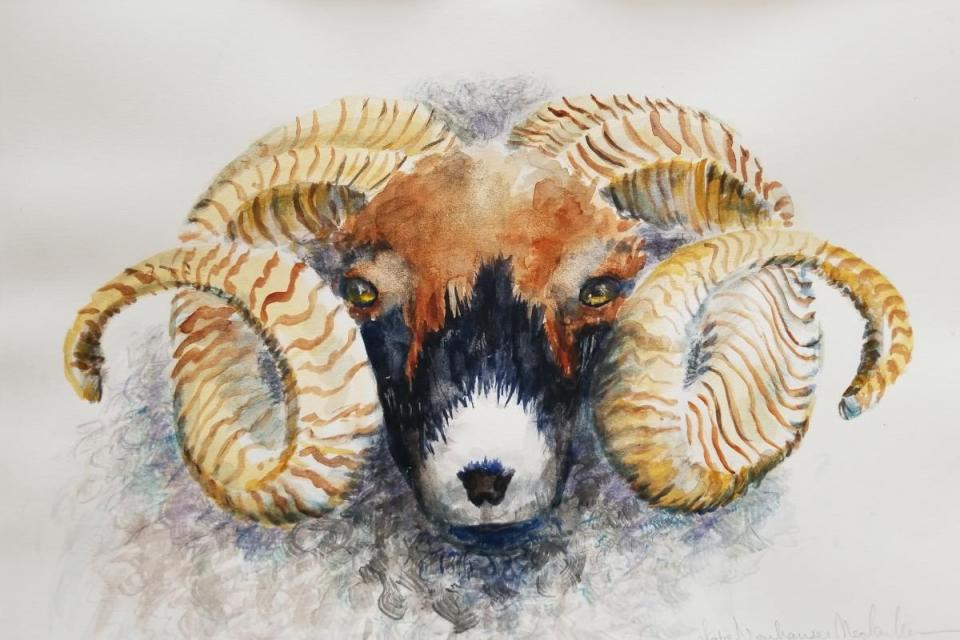 Edit Artwork | Wallhanging by Lettie Neuhauser-MacLachlan | Artists for Conservation