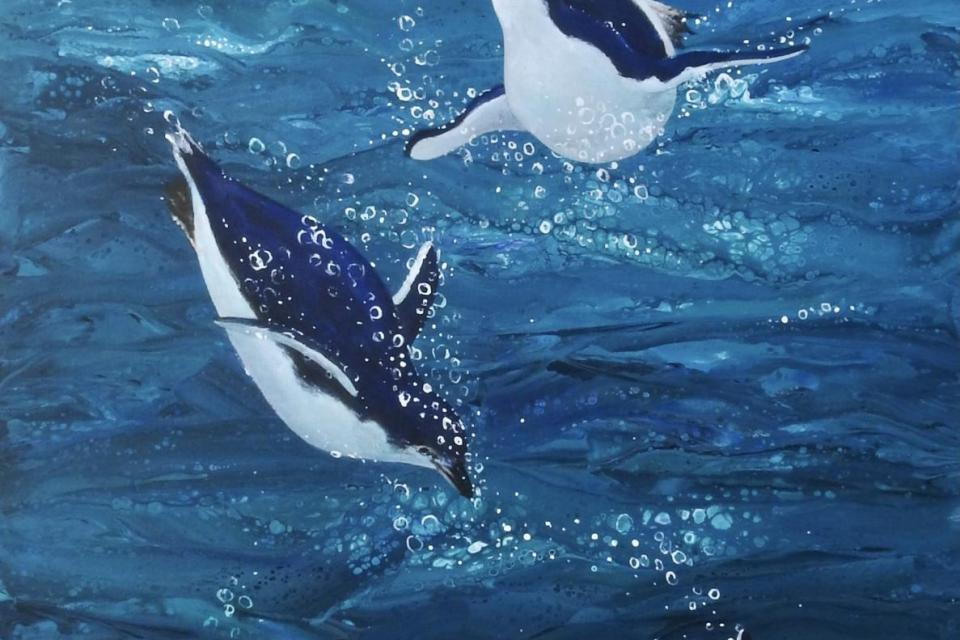 Add Artwork | Wallhanging by Sandra Temple | Artists for Conservation