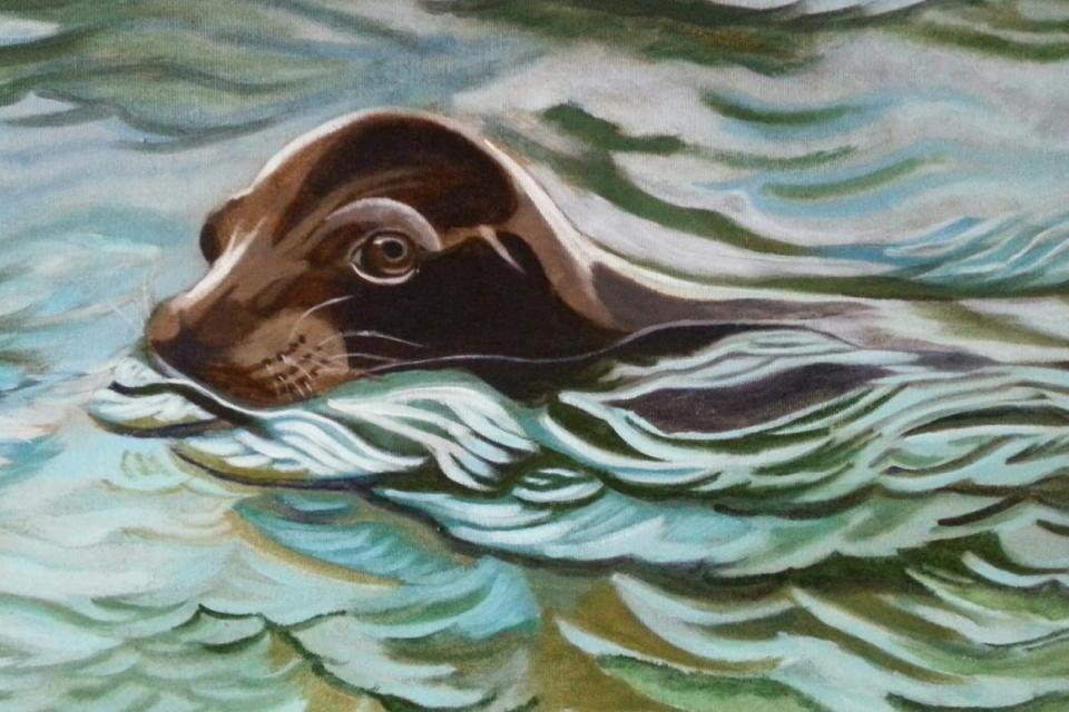 Add Artwork | Wallhanging by Janet Southcott | Artists for Conservation