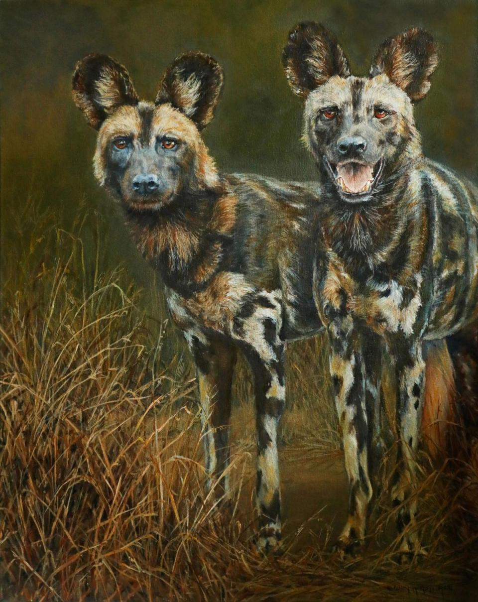 Add Artwork | Wallhanging by Candy McManiman | Artists for Conservation
