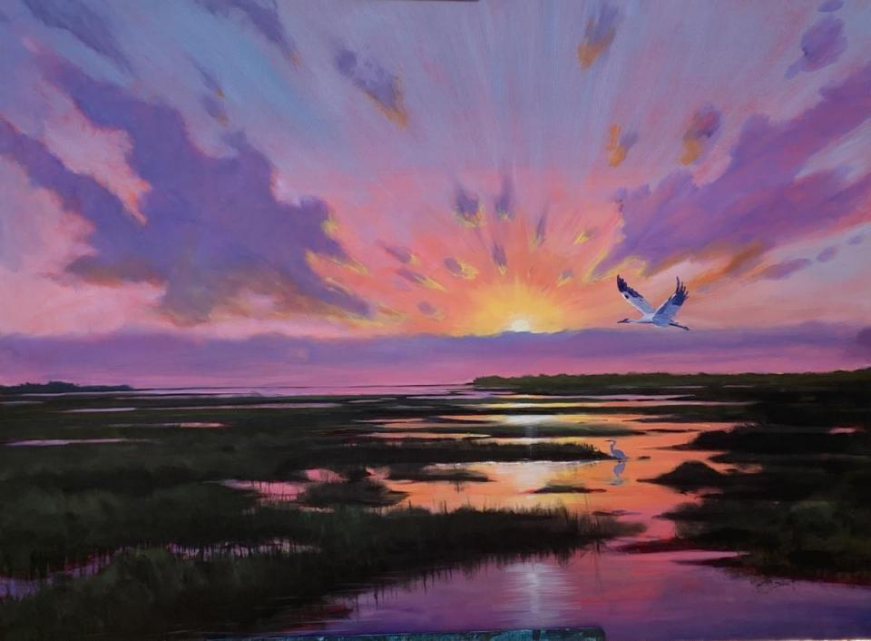Add Artwork   Wallhanging by Jeffrey McDaniel   Artists for Conservation