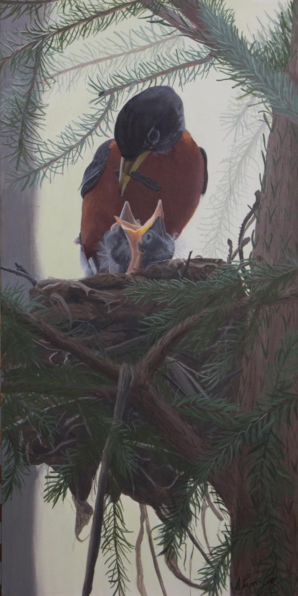 Edit Artwork | Wallhanging by Shawna Lampi-Legaree | Artists for Conservation