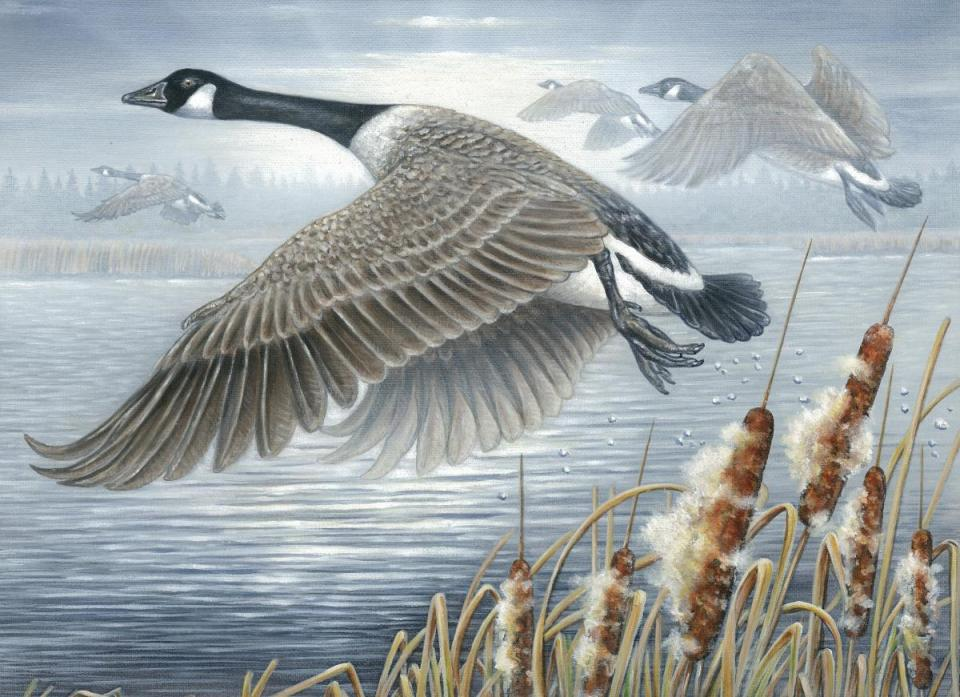 Add Artwork   Wallhanging by Curtis Atwater   Artists for Conservation