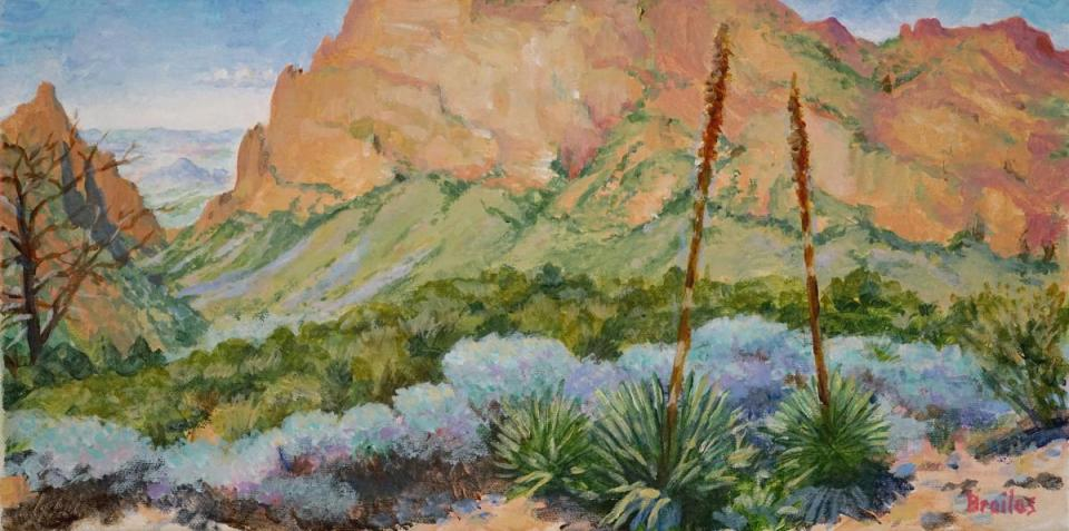 Add Artwork   Wallhanging by Jeffrey Brailas   Artists for Conservation