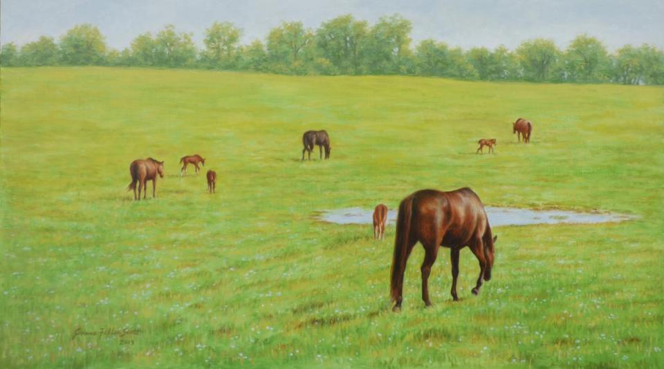 Add Artwork | Wallhanging by Jeanne Filler Scott | Artists for Conservation