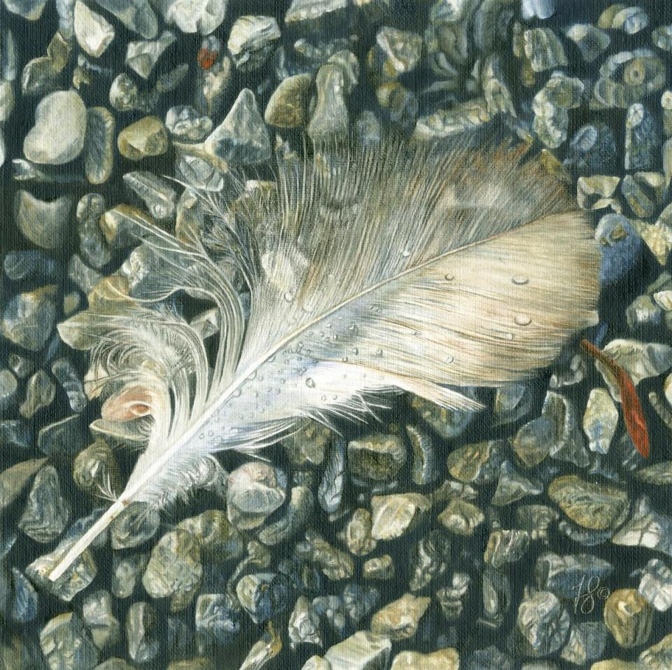 Edit Artwork | Wallhanging by Fiona Goulding | Artists for Conservation