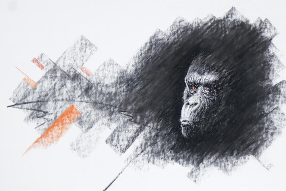 Edit Artwork | Wallhanging by Norbert Gramer | Artists for Conservation