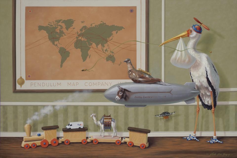 Add Artwork | Wallhanging by Linda Herzog | Artists for Conservation
