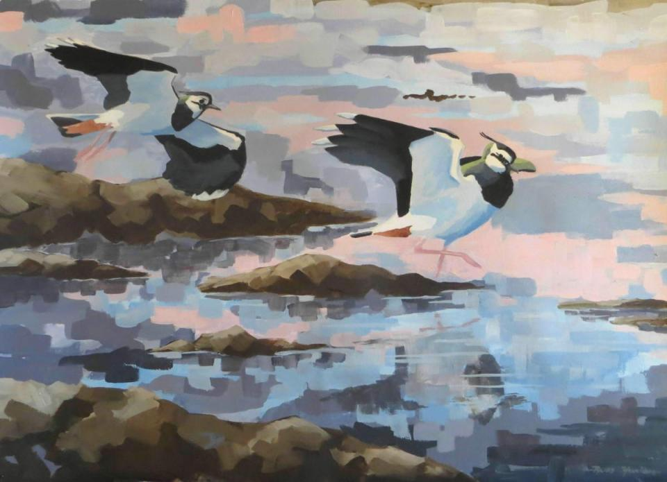 Edit Artwork | Wallhanging by Russ Heselden | Artists for Conservation