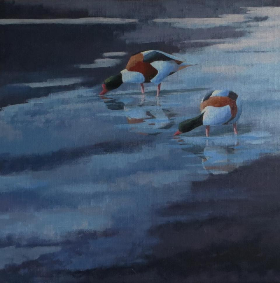Add Artwork | Wallhanging by Russ Heselden | Artists for Conservation