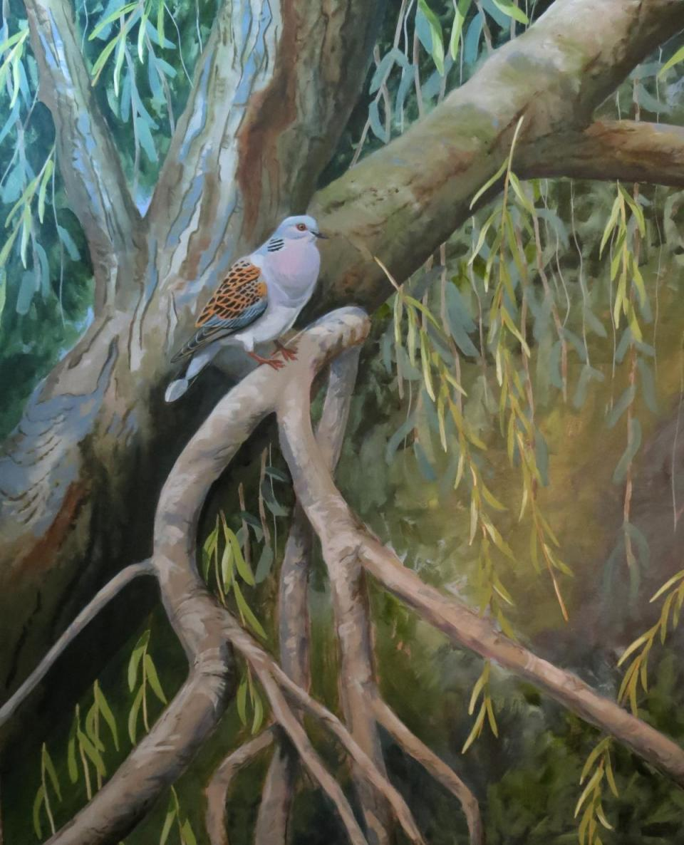 | Wallhanging by Russ Heselden | Artists for Conservation