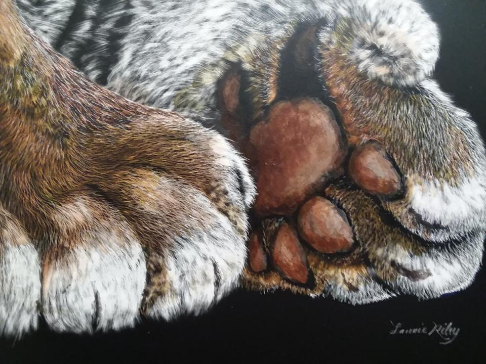 Edit Artwork | Wallhanging by Laurie Riley | Artists for Conservation