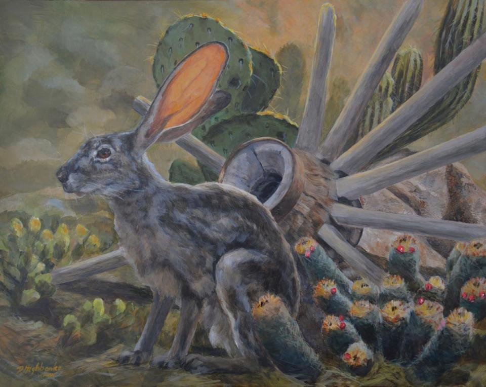   Wallhanging by Debbie Hughbanks   Artists for Conservation