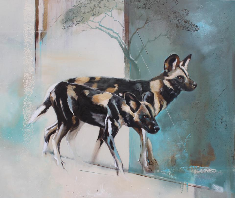 Add Artwork | Wallhanging by Karen Laurence-Rowe | Artists for Conservation