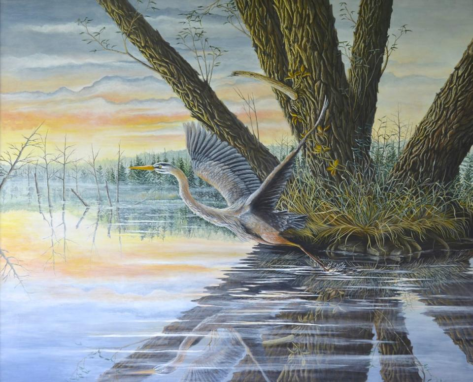 Edit Artwork   Wallhanging by C. Frederick Lawrenson   Artists for Conservation