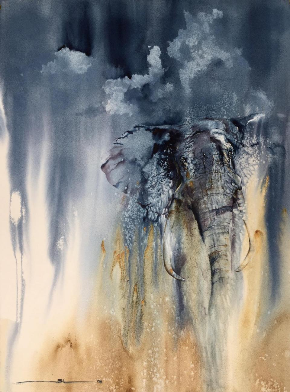 Edit Artwork | Wallhanging by Sandi Lear | Artists for Conservation
