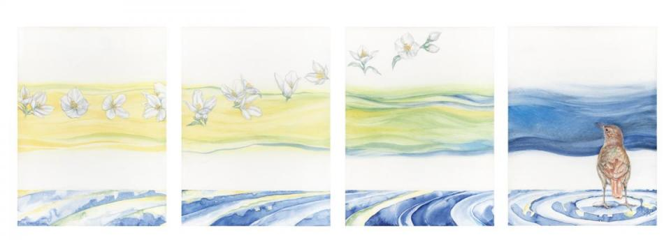 Edit Artwork | Wallhanging by Susan Neilson | Artists for Conservation