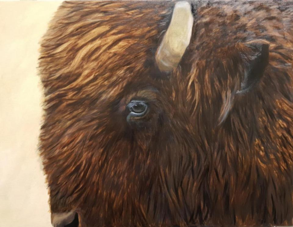 Edit Artwork | Wallhanging by Christine Tunnoch | Artists for Conservation