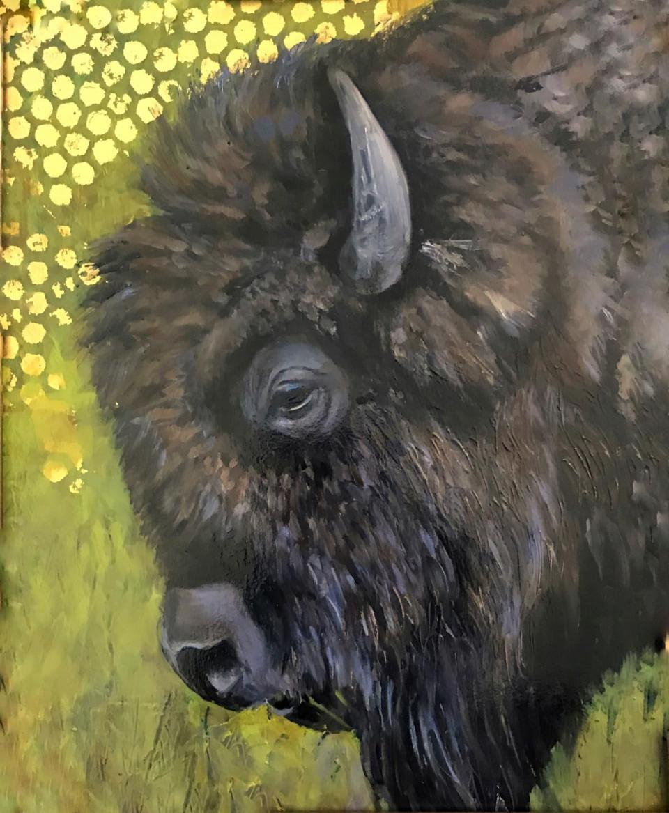 Edit Artwork   Wallhanging by Denise Monaghan   Artists for Conservation