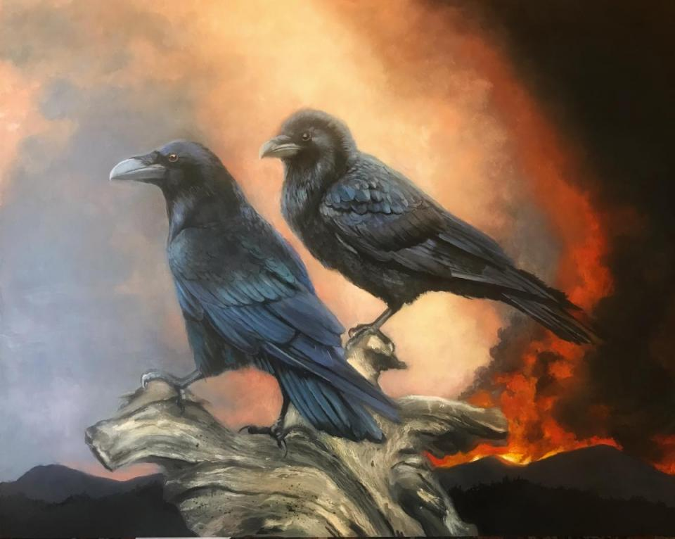 Edit Artwork | Wallhanging by Denise Monaghan | Artists for Conservation