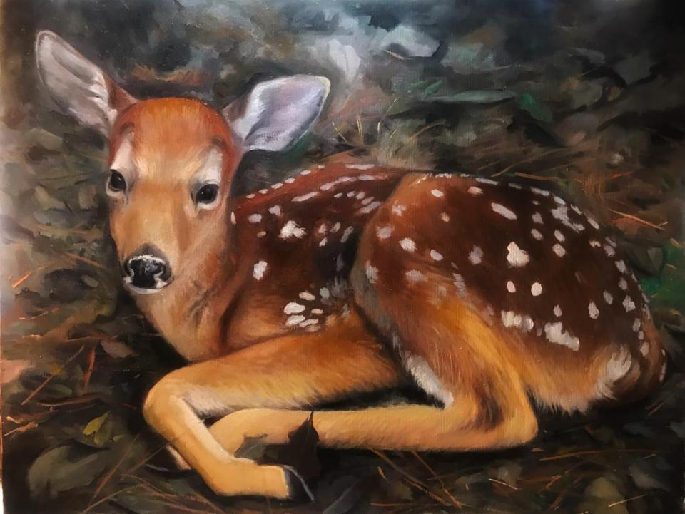 Add Artwork | Wallhanging by Denise Monaghan | Artists for Conservation