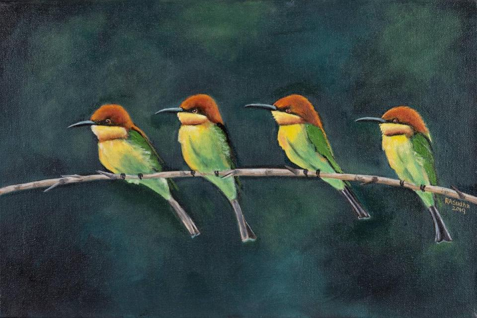 Edit Artwork | Wallhanging by Sudha Anandampillai | Artists for Conservation
