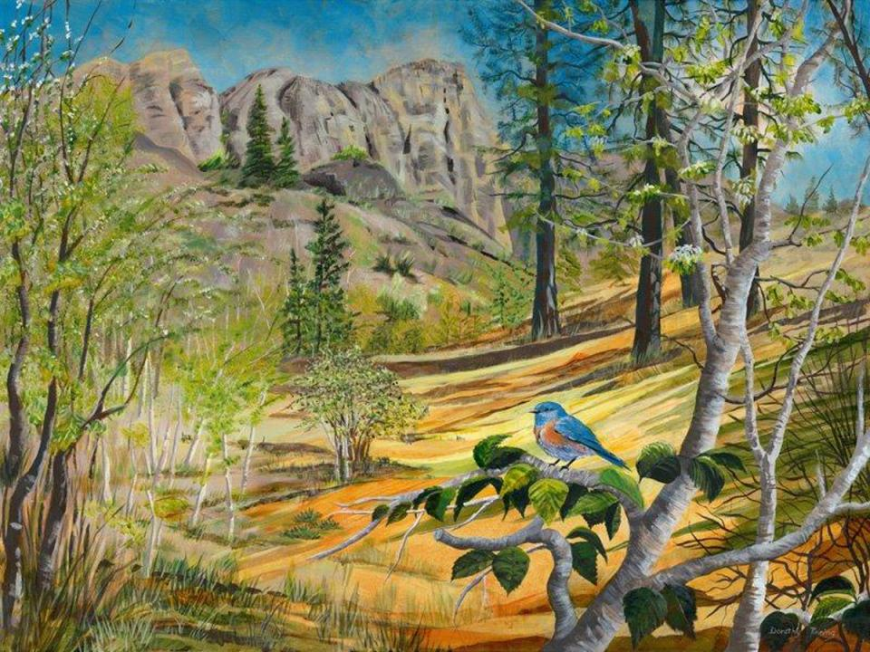 Add Artwork   Wallhanging by Dorothy Tinning   Artists for Conservation