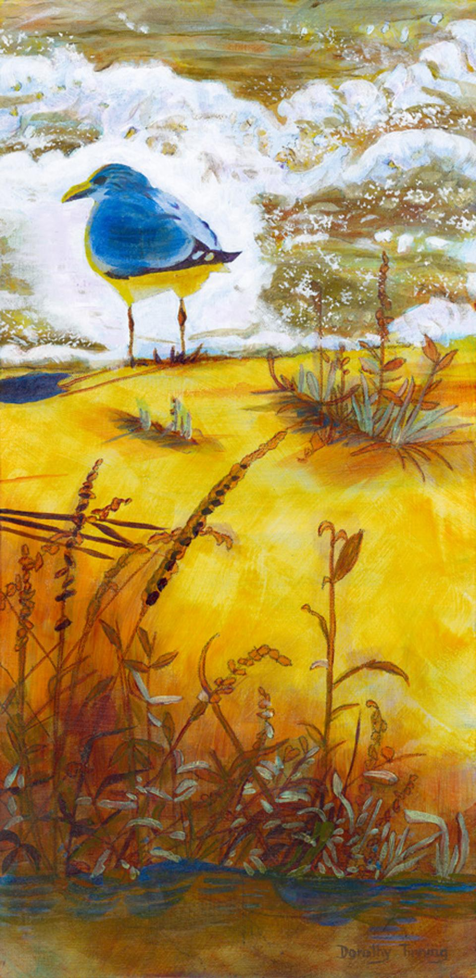 Add Artwork | Wallhanging by Dorothy Tinning | Artists for Conservation