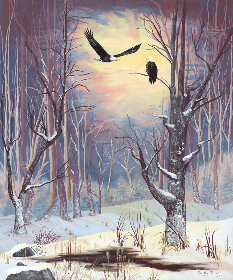 Edit Artwork   Wallhanging by Dorothy Tinning   Artists for Conservation