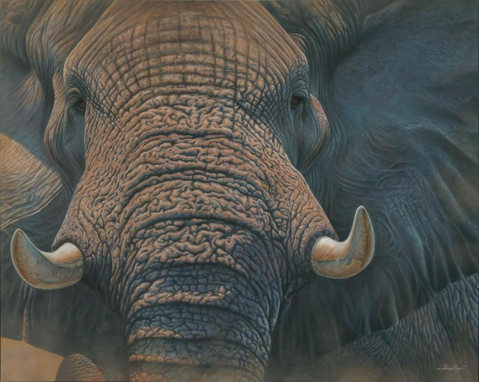  Wallhanging by Jerry Ragg   Artists for Conservation
