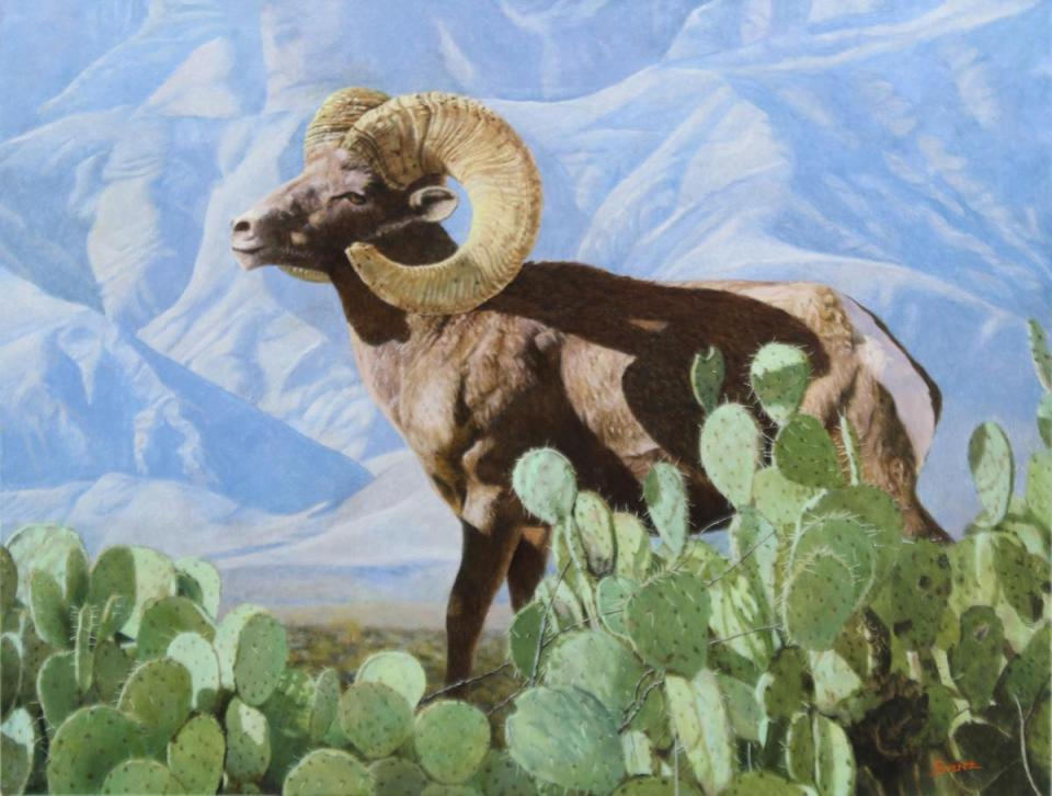   Wallhanging by Eleazar Saenz   Artists for Conservation