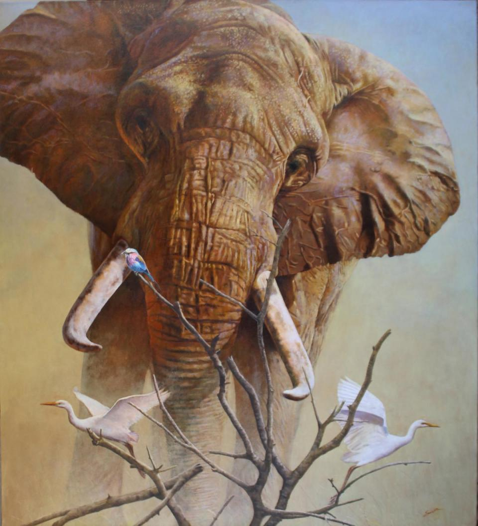| Wallhanging by Eleazar Saenz | Artists for Conservation