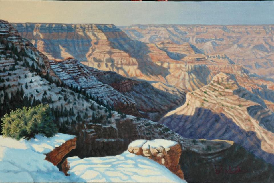 Add Artwork | Wallhanging by Bill Scheidt | Artists for Conservation