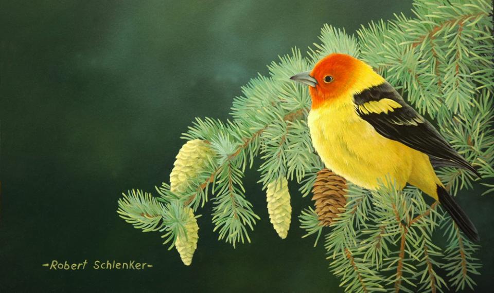 Edit Artwork | Wallhanging by Robert Schlenker | Artists for Conservation