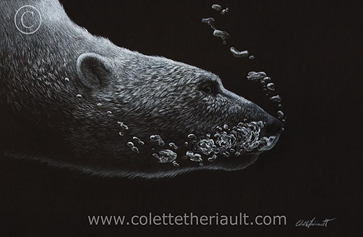 | Wallhanging by Colette Theriault | Artists for Conservation