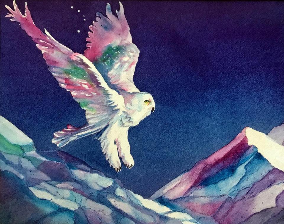 Edit Artwork | Wallhanging by Pamela Haunschild | Artists for Conservation