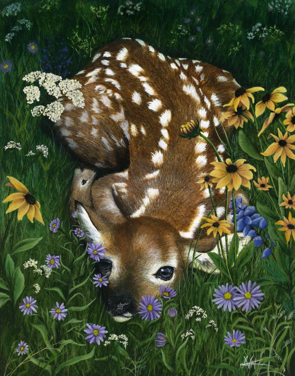 Add Artwork | Wallhanging by Lyn Vik | Artists for Conservation
