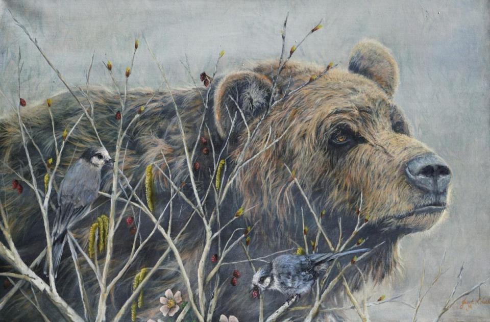 Edit Artwork | Wallhanging by Janet Hanofee | Artists for Conservation