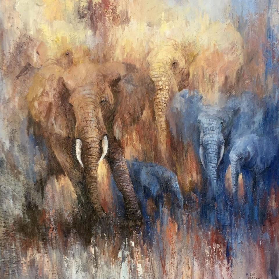 Edit Artwork | Wallhanging by Ken Wallin | Artists for Conservation