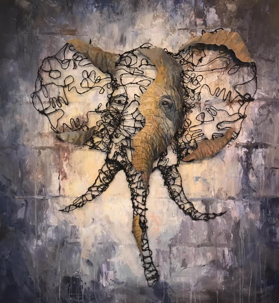 Add Artwork | Wallhanging by Ken Wallin | Artists for Conservation