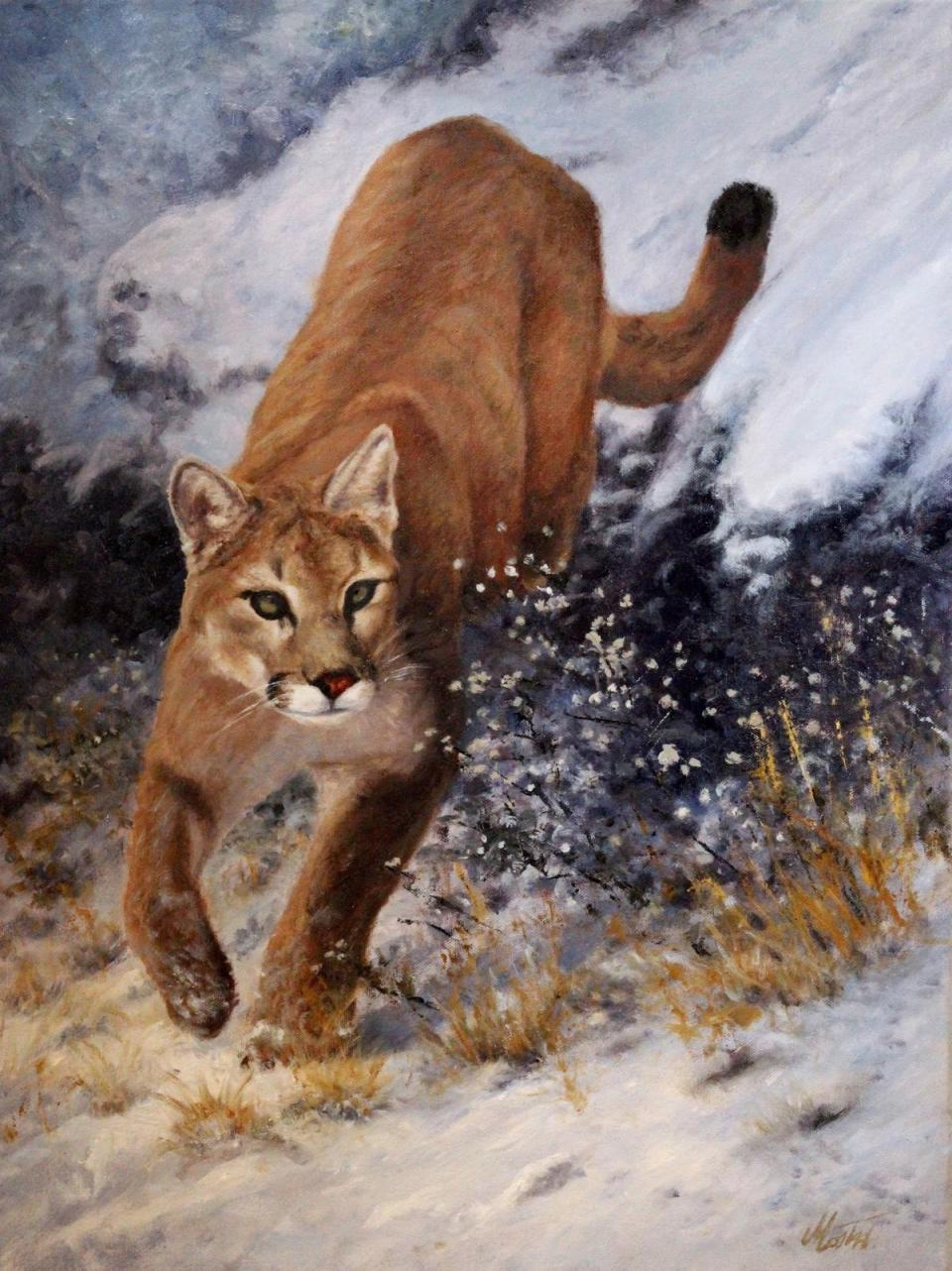 Add Artwork   Wallhanging by Tom Mostad   Artists for Conservation