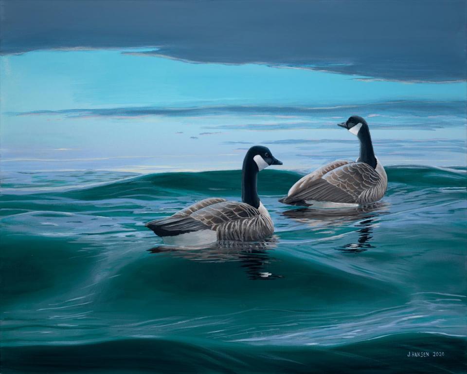 Edit Artwork | Wallhanging by Joshua Hansen | Artists for Conservation