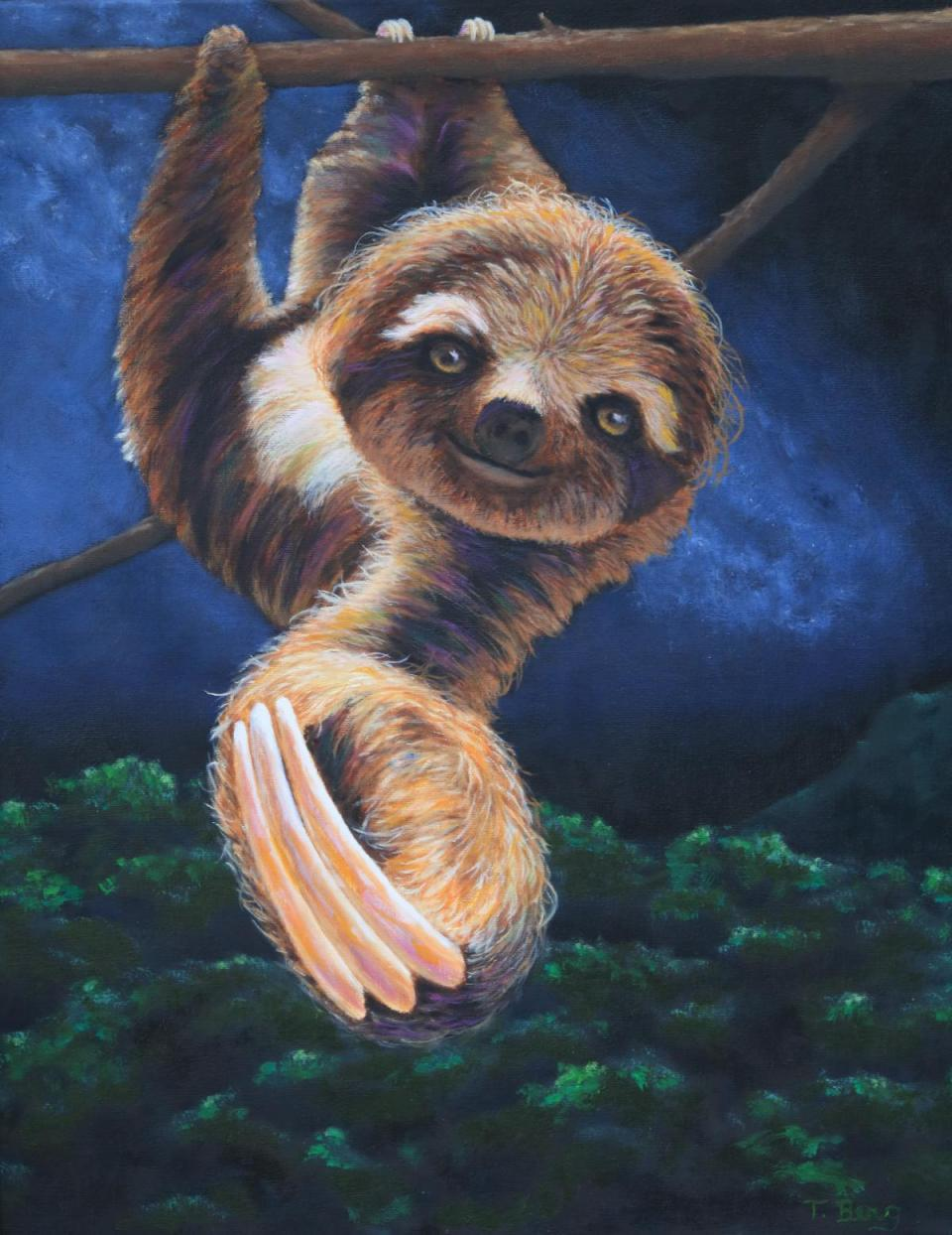 Add Artwork | Wallhanging by Terry Berg | Artists for Conservation