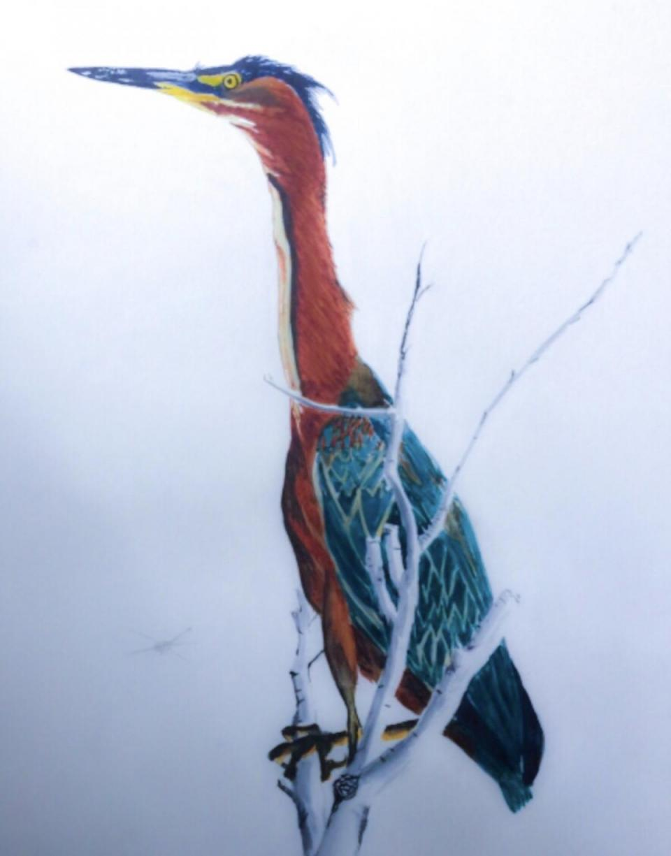 Add Artwork | Wallhanging by Jeffrey McDaniel | Artists for Conservation