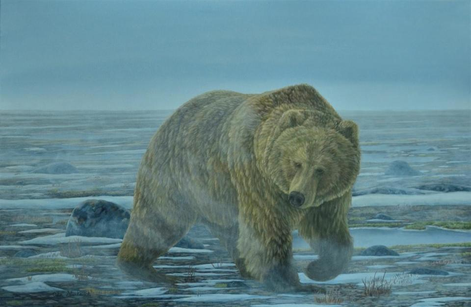| Wallhanging by Colin Starkevich | Artists for Conservation